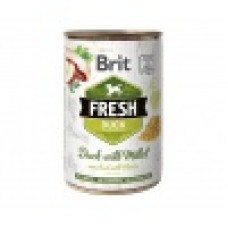 Brit Fresh Can eend & gierst 400g