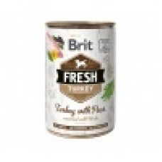 Brit Fresh Can kalkoen & erwten 400g