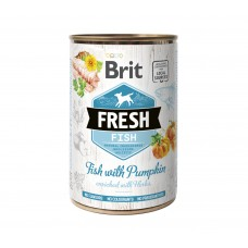 Brit Fresh Can vis & pompoen 400g