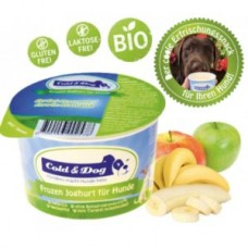 Cold & Dog frozen yoghurt met appel/banaan 90ml