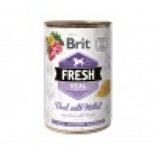 Brit Fresh Can kalf & gierst 400g