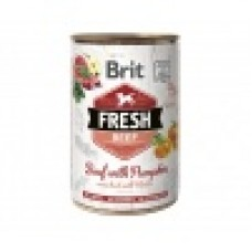 Brit Fresh Can rund & pompoen 400g