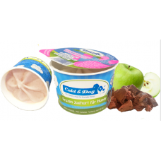 Cold & Dog frozen yoghurt kippenlever/appel 90ml